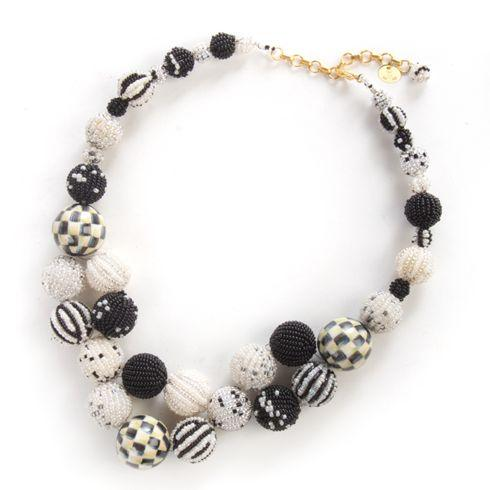 $360.00 Day-To-Night Pom Pom Necklace