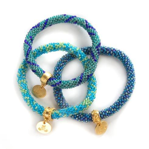 $98.00 Lake Little Beaded Bracelets - Set of 3