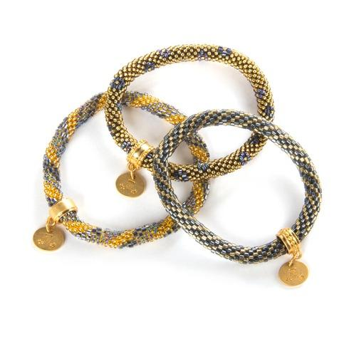 $98.00 Ascot Little Beaded Bracelets - Set of 3