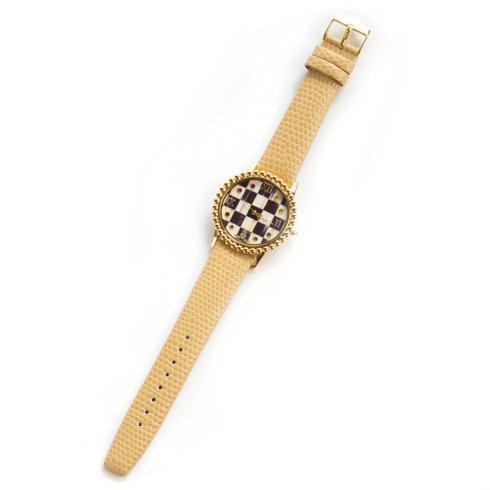 $195.00 Round Watch - Sandpiper