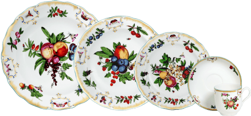 $455.00 5 Piece Place Setting