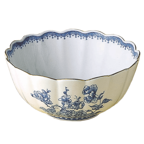 Mottahedeh  Imperial Blue Scalloped Bowl $250.00