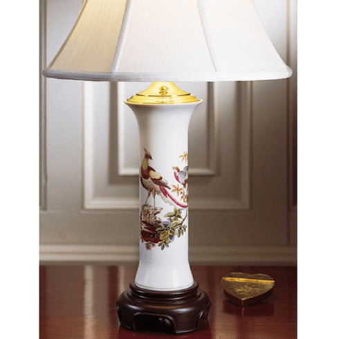 $525.00 Chelsea Bird Trumpet Lamp