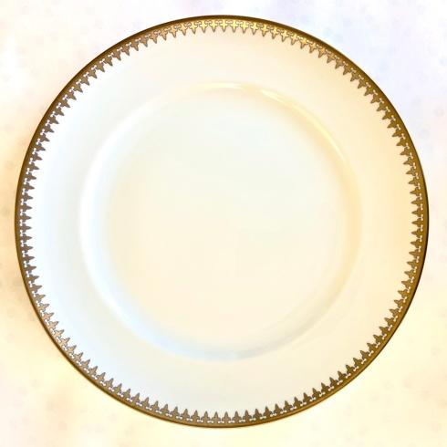 Mottahedeh  Tableware Gold Arrowhead Dinner Plate $50.00