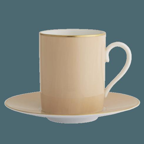 $140.00 Vanilla Tall Cup & Saucer