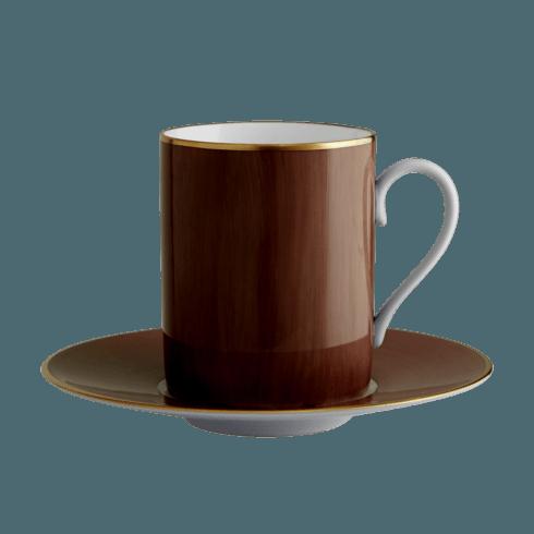 $140.00 Chocolate Tall Cup & Saucer