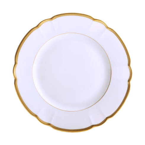 Robert Haviland & C. Parlon Colette Gold Dessert Plate $155.00