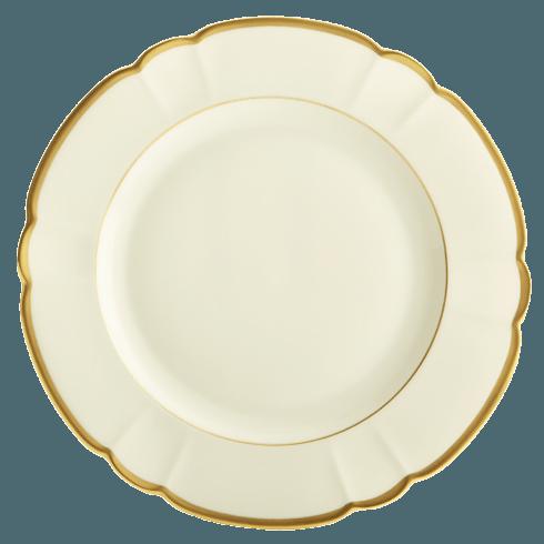 Robert Haviland & C. Parlon  Colette - Gold Dessert Plate $145.00