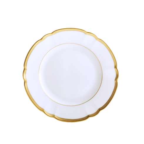 Robert Haviland & C. Parlon Colette Gold Bread & Butter Plate $125.00