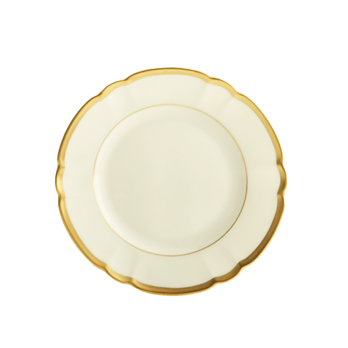 Robert Haviland & C. Parlon  Colette - Gold Bread & Butter Plate $110.00