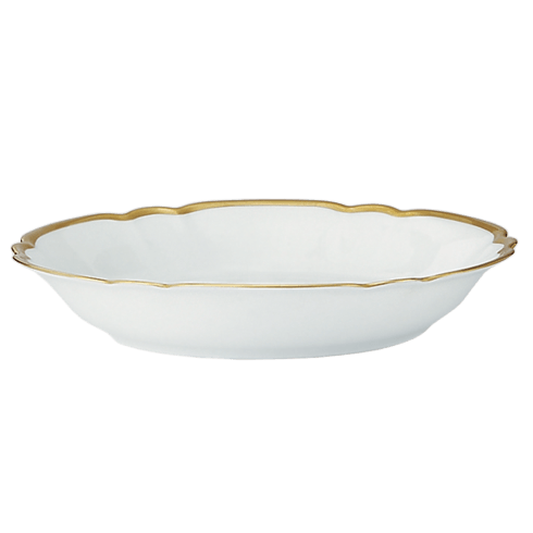 Robert Haviland & C. Parlon  Colette - Gold Coupe Soup Bowl $160.00