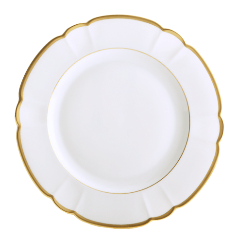 Robert Haviland & C. Parlon Colette Gold Dinner Plate $185.00