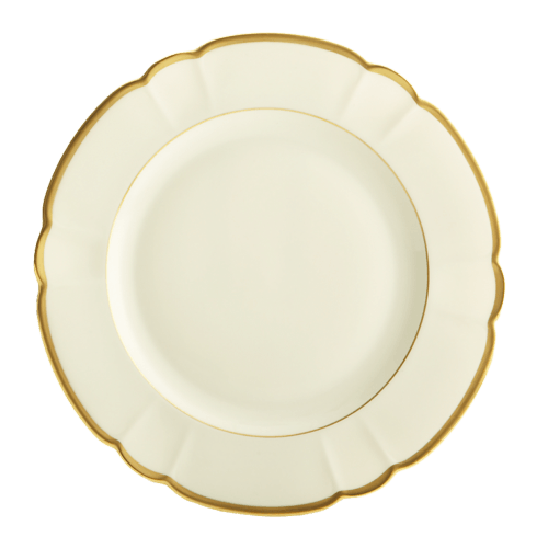Robert Haviland & C. Parlon  Colette - Gold Dinner Plate $165.00
