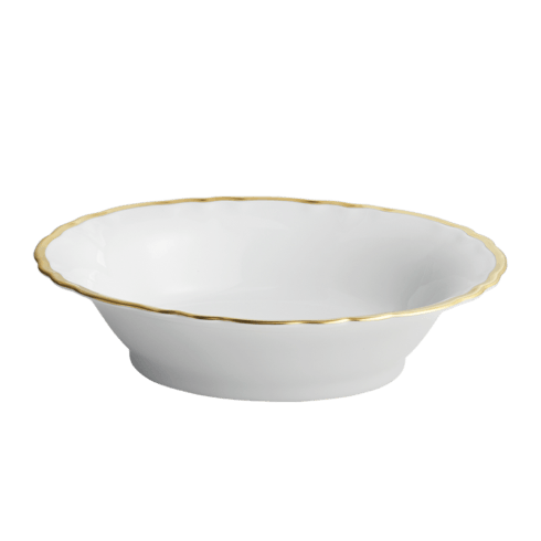 Robert Haviland & C. Parlon  Colette - Gold Open Vegetable Bowl $575.00