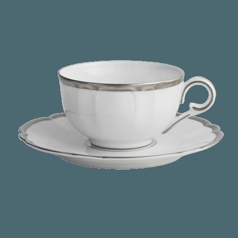 $195.00 Colette Plat Tea Cup & Saucer