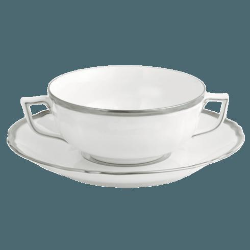 $415.00 Colette Plat Cream Soup &Saucer