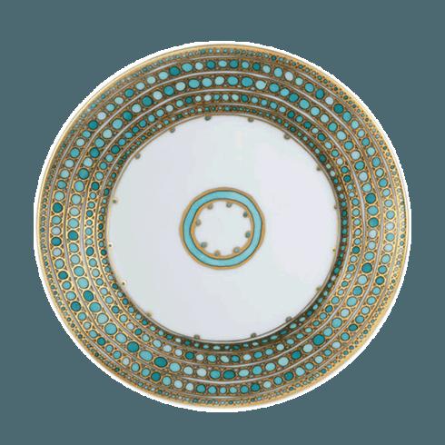 Robert Haviland & C. Parlon  Syracuse - Turquoise Dessert Plate $210.00