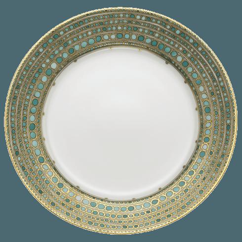Robert Haviland & C. Parlon Syracuse Turquoise Dinner Plate $235.00