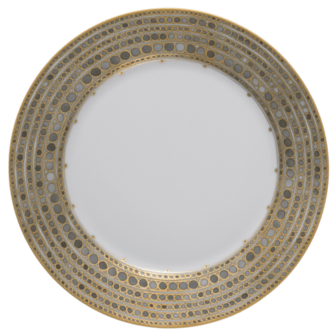 Robert Haviland & C. Parlon Syracuse Taupe Dinner Plate $235.00