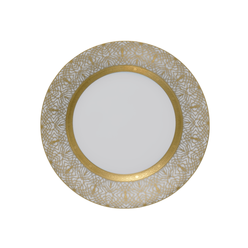 Robert Haviland & C. Parlon  Farahnaz - White Bread & Butter Plate $180.00