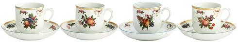 Cup & Saucer Set Of 4 image