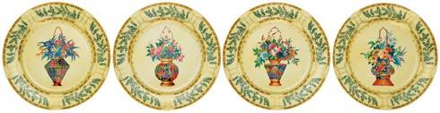 Dessert Plates S/4