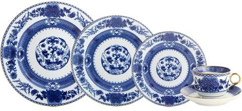 Mottahedeh  Imperial Blue 5 Piece Place Setting $365.00