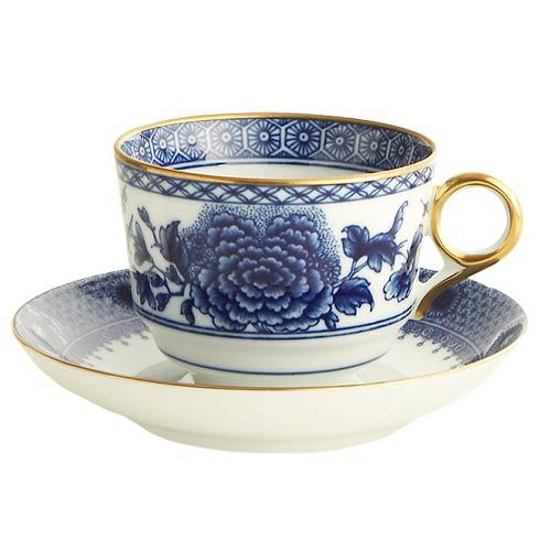 Mottahedeh  Imperial Blue Tea Cup & Saucer Set $120.00
