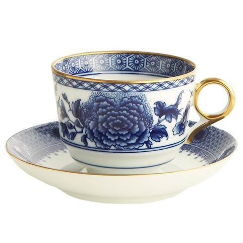Mottahedeh  Imperial Blue Tea Cup & Saucer Set $130.00