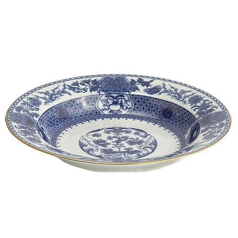 Mottahedeh  Imperial Blue Rim Soup $100.00