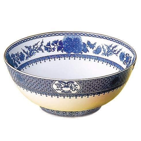 Mottahedeh  Imperial Blue Round Salad Bowl\' $290.00