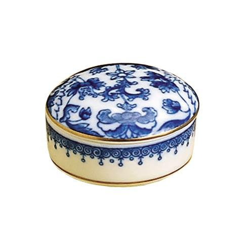 Mottahedeh  Imperial Blue Imperial Blue Small Round Box $35.00