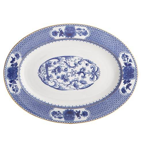 5 Piece Place Setting Platter ...  sc 1 st  Little Brown House & Mottahedeh Imperial Blue products