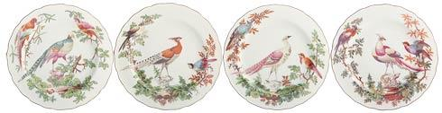 Mottahedeh  Chelsea Bird Dessert Plates Set Of 4 $280.00