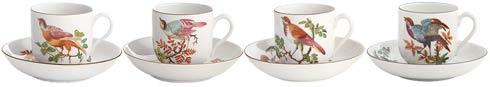 Tea Cup & Saucer Set Of 4