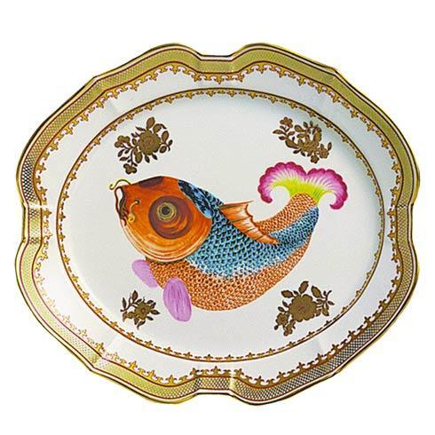Dallas Museum Carp Platter, Large