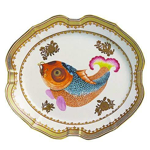 $540.00 Dallas Museum Carp Platter, Large