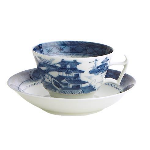 Mottahedeh  Blue Canton Tea Cup & Saucer $60.00