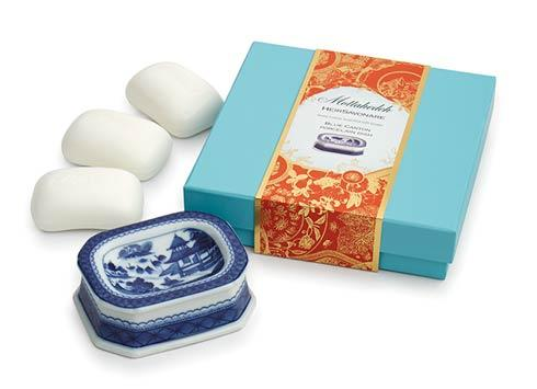 $75.00 Blue Canton Gift Soap Set