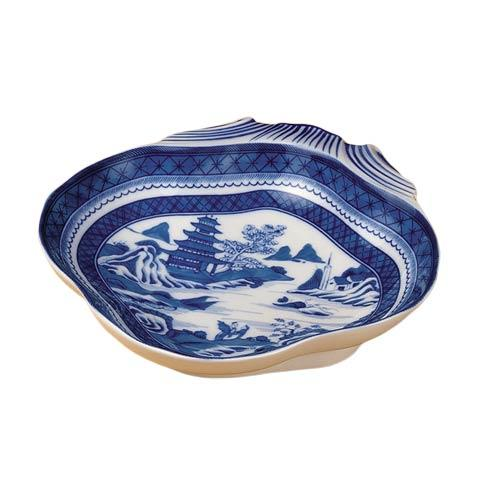 Mottahedeh  Blue Canton Shell Dish $105.00