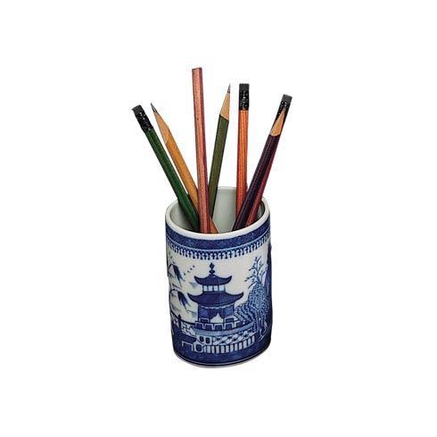 $45.00 Blue Canton Pencil Cup