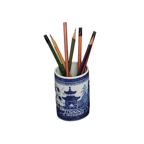 $45.00 Blue Canton Pencil Cup