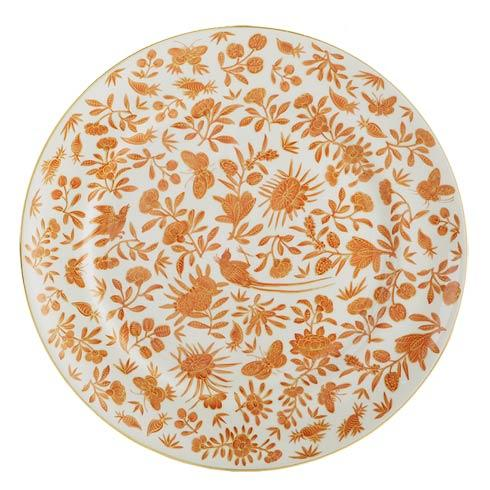 Mottahedeh  Sacred Bird & Butterfly Dinner Plate $65.00