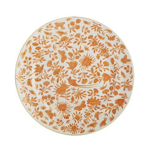 Mottahedeh  Sacred Bird & Butterfly Dessert Plate $55.00