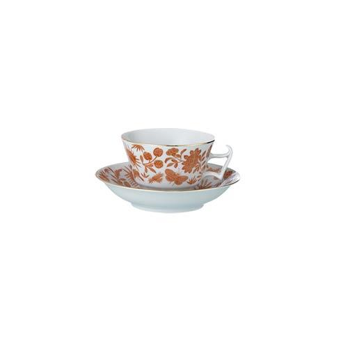 Mottahedeh  Sacred Bird & Butterfly Tea Cup & Saucer $75.00
