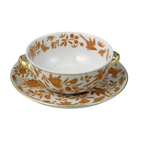 $105.00 Cream Soup Cup & Saucer
