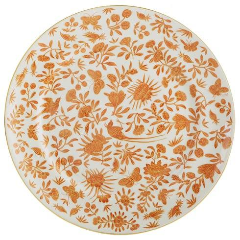 Mottahedeh  Sacred Bird & Butterfly Dinner Plate Large $70.00