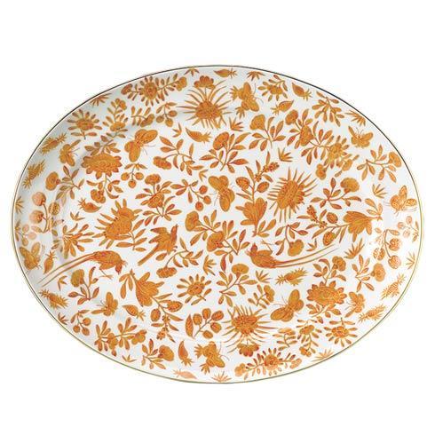 Mottahedeh  Sacred Bird & Butterfly 14' Platter $215.00