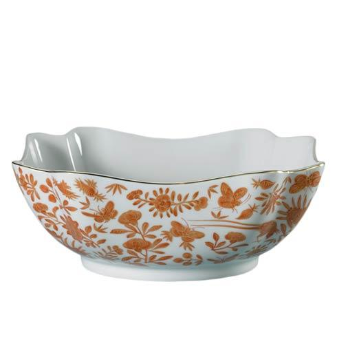 Mottahedeh  Sacred Bird & Butterfly Square Bowl, Large $240.00