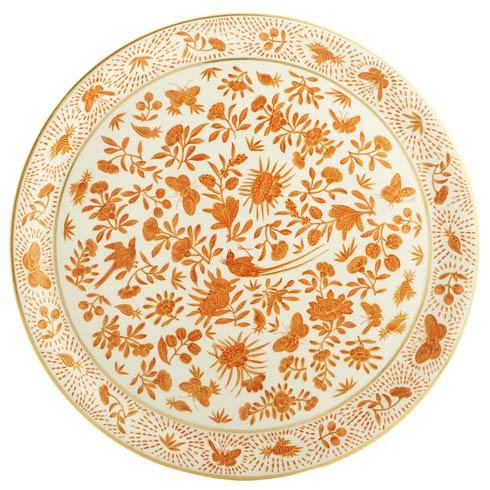 Mottahedeh  Sacred Bird & Butterfly Cake Plate $145.00